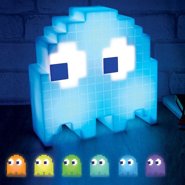 Lampe LED fantome Pac man