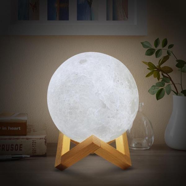 Lampe Lune 3D 30 cm