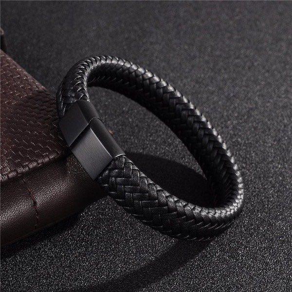 Bracelet en cuir homme Le meilleur de