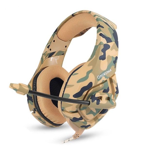 Casque gaming camouflage Aliexpress