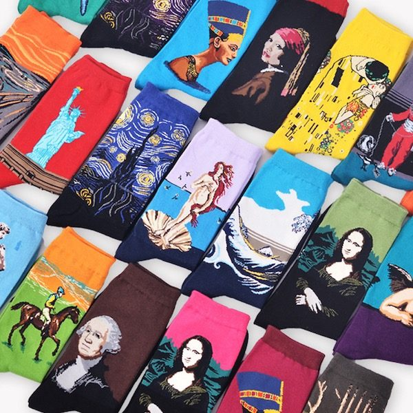 Chaussettes Oeuvres Art Aliexpress 1