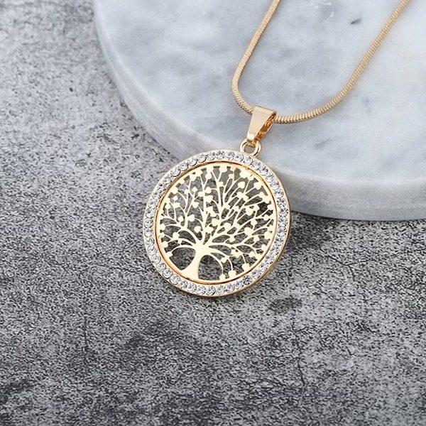 Collier pendentif arbre de vie Aliexpress