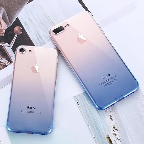Coque iPhone degrade de couleurs