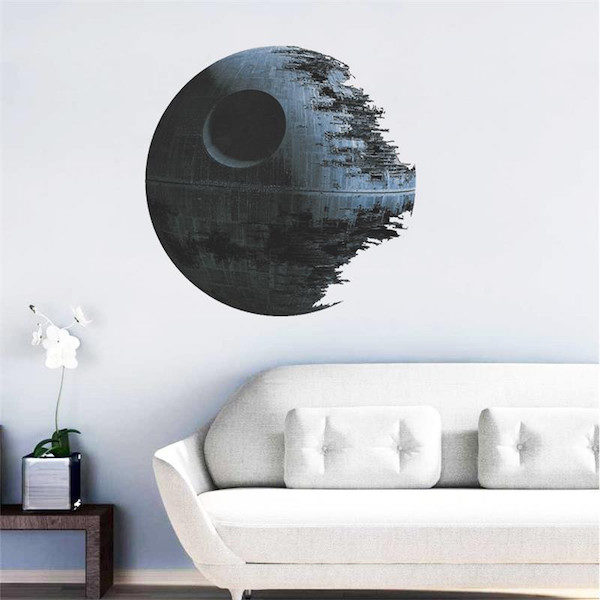 Decoration murale star wars etoile de la mort Aliepress