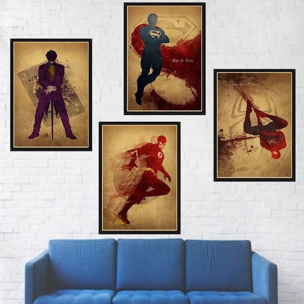 Poster mural marvel avengers Aliexpress