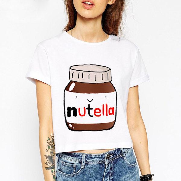 T Shirt pot de Nutella Aliexpress