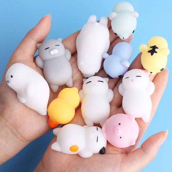 balle anti stress squishy