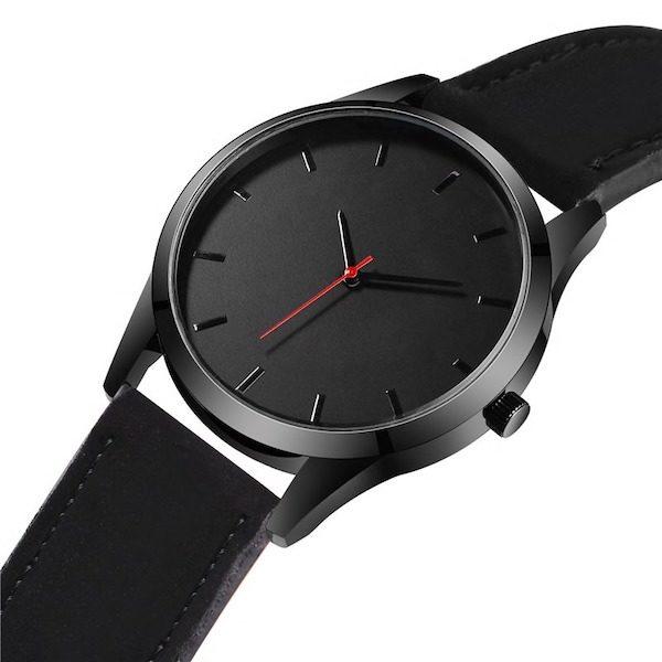 montre bracelet cuir Aliexpress