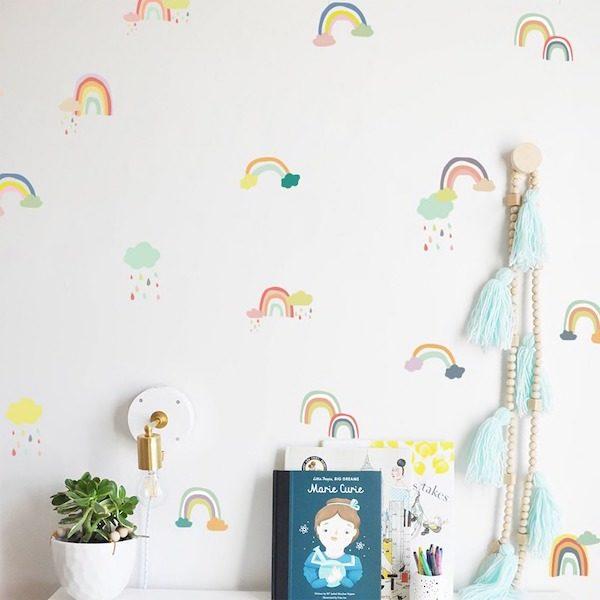 sticker mural chambre bebe