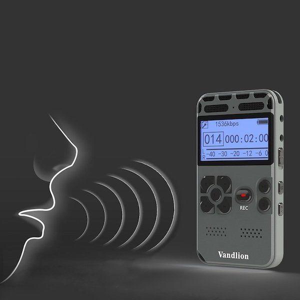dictaphone declenchement vocal automatique le meilleur de