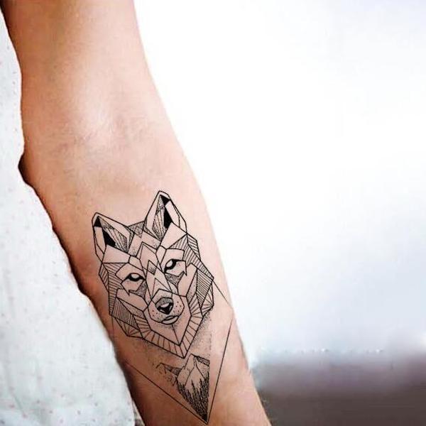 tatouage ephemere loup le meilleur de aliexpress