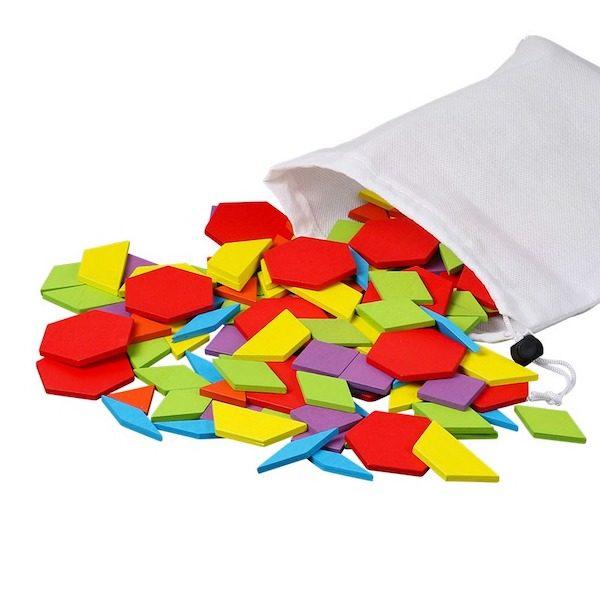jeu de tangram en bois montessori le meilleur de aliexpress