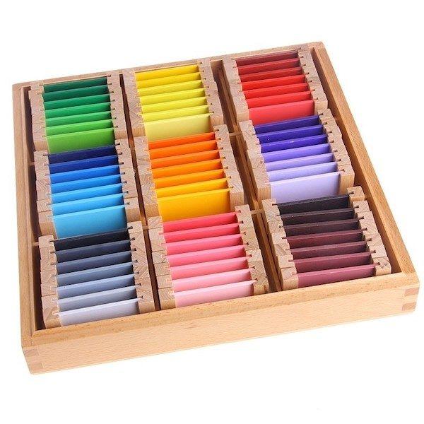 troisieme boite de couleurs montessori le meilleur de