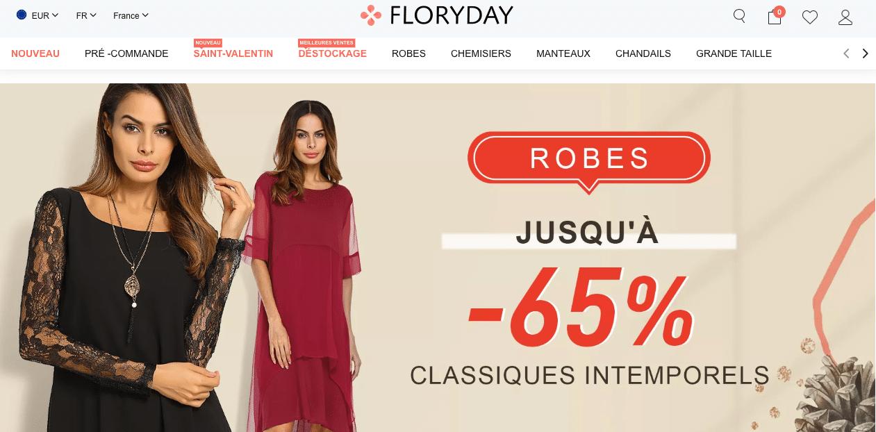 floryday site chinois de mode pas cher
